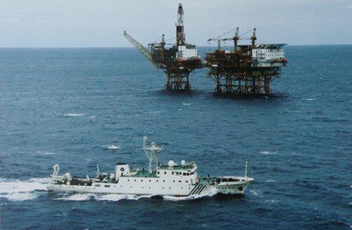 艘美国研究船在南海东沙