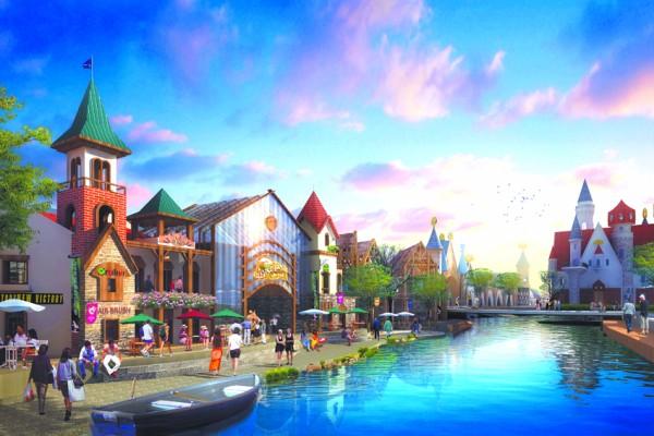 青岛海上嘉年华大型海上游乐休闲区建筑单体结构