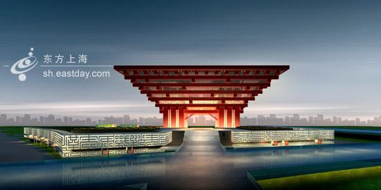 上海世博会--中国馆 - 长城 - 长城的博客