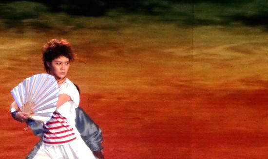 太极美女马畅亮相央视4套《中国文艺》