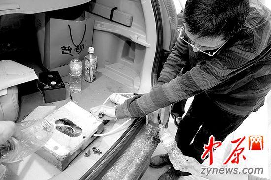 中原网:郑州市民发明车载马桶