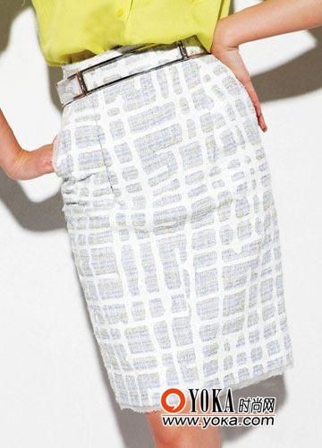 铅笔裙 chanel